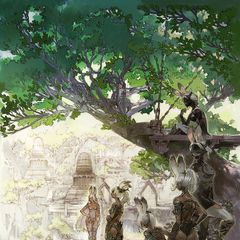 Promotional artwork for <i>Final Fantasy XII: The Zodiac Age</i>.