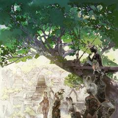 Arte promocional para o <i>Final Fantasy XII: The Zodiac Age</i>.