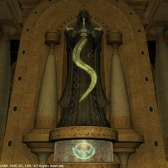 Stone with Nald'thal's symbol in legacy <i>Final Fantasy XIV</i>.