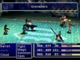 Final Fantasy VII demo