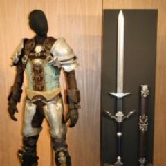 Another replica of the Warrior of Light's armor.