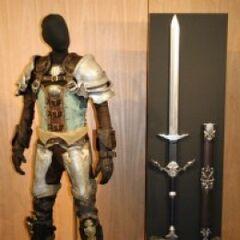 outra replica da armadura do CG Midlander.