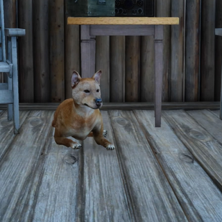 Dave's dog in <i>Final Fantasy XV</i>.