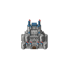 Baron Castle sprite (PSP).