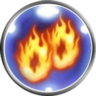 FFRK Doublecast Fire Icon