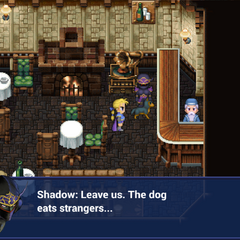 Shadow introduces his dog (iOS).