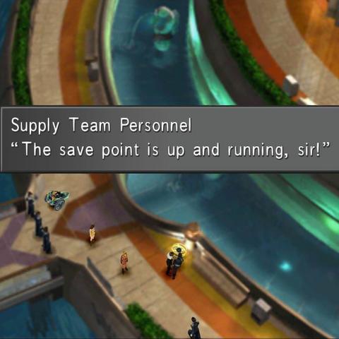 An NPC maintains a save point.
