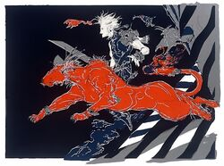 Cloud & Red XIII 2