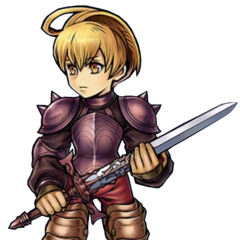 Artwork for Ramza's costume.