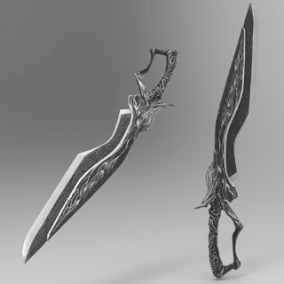 Dummied dagger model from <i>Episode Ignis</i>.