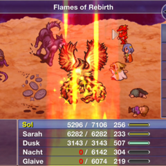 Flames of Rebirth.