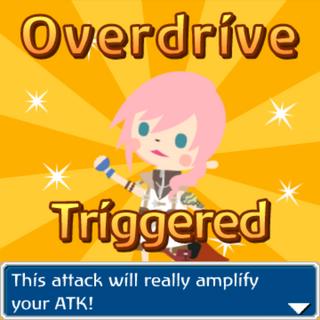 Lightning Overdrive triggered.