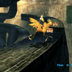 Chocobo Racing in <i>Final Fantasy X</i>.