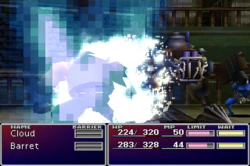 FFVII Smoke Shot