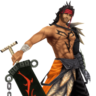 Render of Jecht in <i>Dissidia</i>.