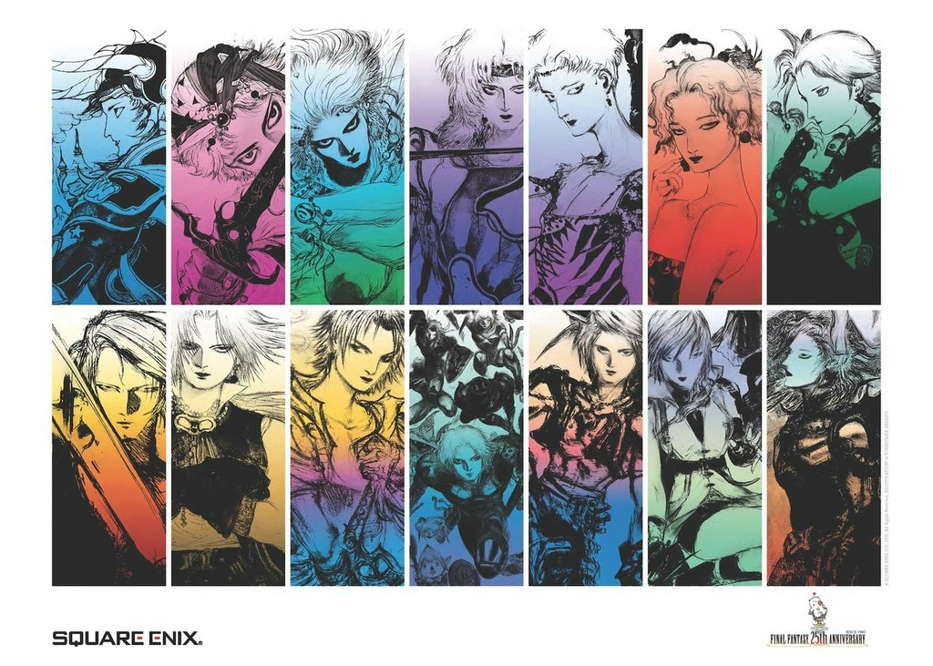 Every Final Fantasy Art