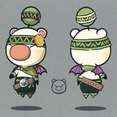 Class Fifth moogle artwork.