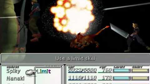FFVII Limit Break Compilation - Nanaki's Cosmo Memory