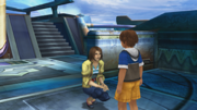 FFX HD Tidus & Mother