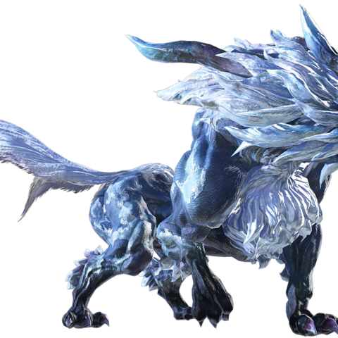 Fenrir in <i>Final Fantasy XIV</i>.