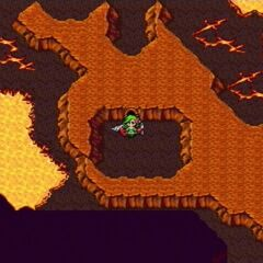 Sealed Cave on the world map in <i><a href=