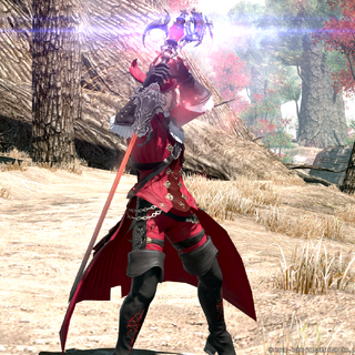 Red Mage casting.