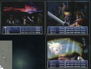FFVII Early Battle Concept