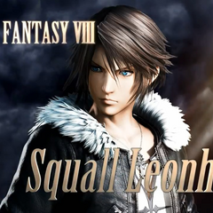 Squall in the <i>Dissidia Final Fantasy</i> 11.26 trailer.