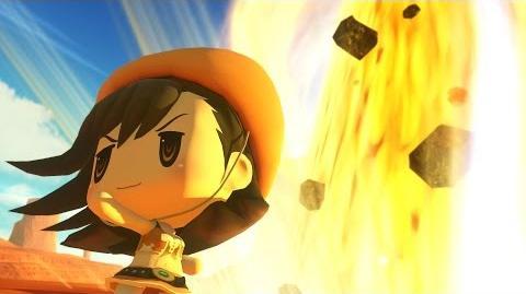 World of Final Fantasy Tifa Champion Summon (1080p 60fps)