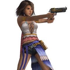 Yuna as a Gunner.