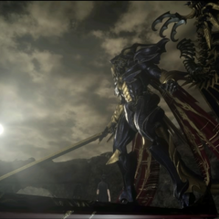 Bahamut in the <i>Royal Edition</i> credits.
