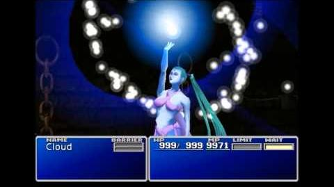 Diamond Dust - Shiva summon sequence - FFVII