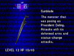 FFVIII Gunblade Enemy