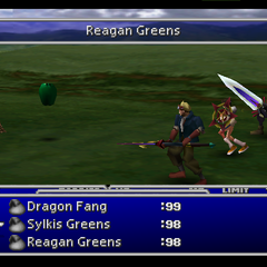 Reagan Greens in <i>Final Fantasy VII</i>.