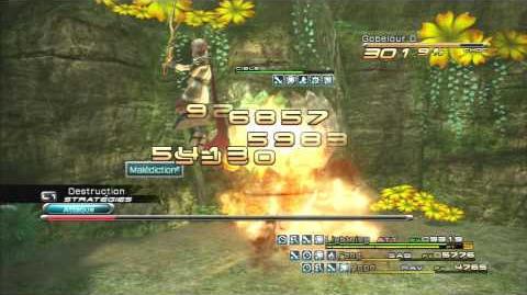 Final Fantasy XIII Combat contre Héros gobelours-0