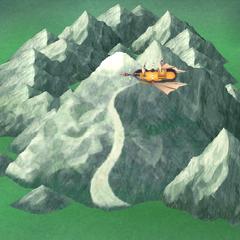 Render do Monte da Provação (iOS).