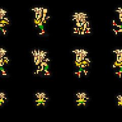 Set of Gau's sprites.