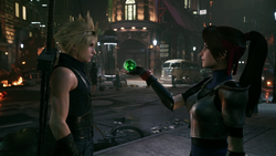 FFVIIR Cloud and Jessie