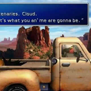 Zack decides his future in <i>Final Fantasy VII</i>.