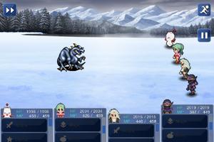 FFVI IOS Ice Dragon