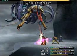 FFX Lance of Atrophy