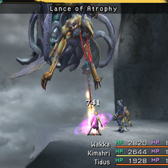 Lance of Atrophy.