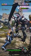 Mevius battle screenshot