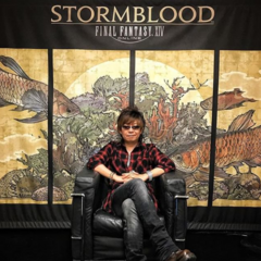 Yoshida teasing <i>Final Fantasy XIV</i> x <i>Final Fantasy XV</i> collaboration.