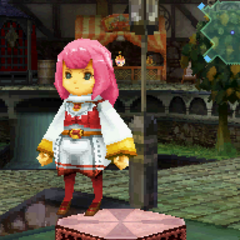 Red Bard Garb in <i>Final Fantasy Crystal Chronicles: Ring of Fates</i>.