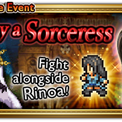 Global event banner for To Slay a Sorceress.