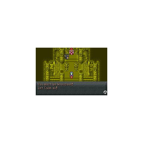 Wrexsoul holds Cyan's soul.