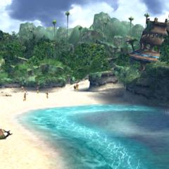 Besaid Beach.