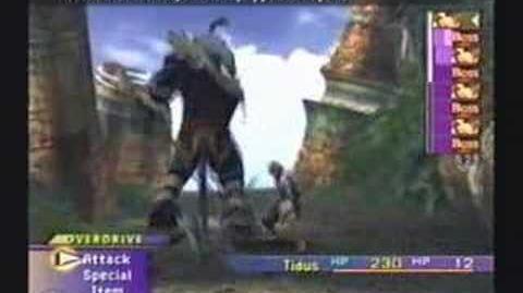 Final Fantasy X Boss - Kimahri