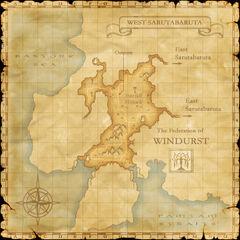 The map of West Sarutabaruta.